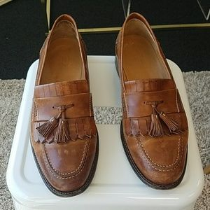 Johnston & Murphy leather shoes